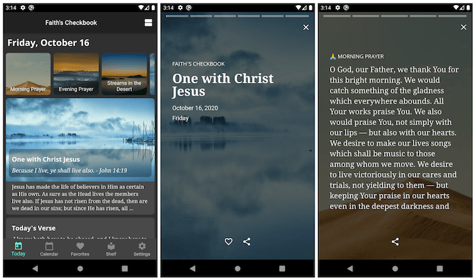 Daily Devotional Collection on Android